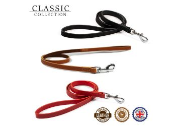 Classic Leather Lead Red 1mx12mm