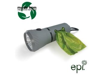 Poop Bag Dispenser Torch 12 Pack