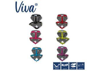 Viva Padded Harness Blue S 36-42cm