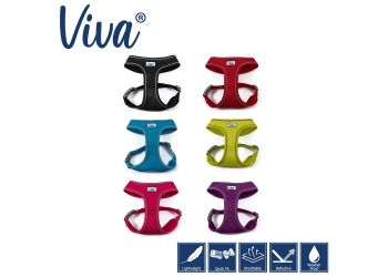 Mesh Dog Harness Red S 34-45cm