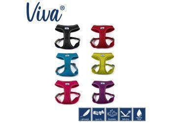 Viva Mesh Dog Harness Lime S 34-45cm