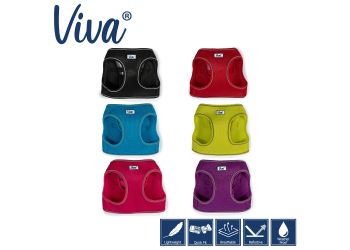 Viva Step-in Harness Lime S/M 41-47cm