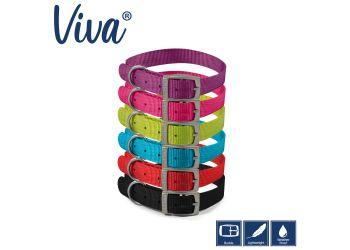 Viva Collar Blue 39-48cm Size 5