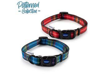 Tartan Collar Red 30-50cm Size 2-5