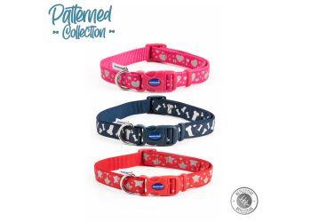 Paw & Bone Collar Red 20-30cm Size 1-2