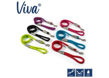 Viva Rope Lead Reflective Pink 1.07mx10mm