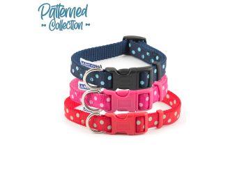 Vintage Polka Collar Pink 20-30cm Size 1-2