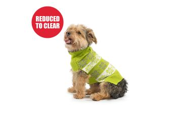 Nordic Dog Jumper Green XS