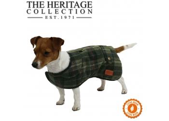 Heritage Green Check Coat 35cm S/M