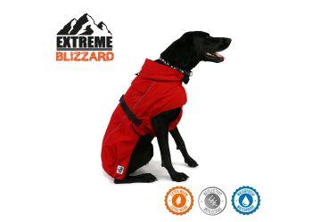 Extreme Blizzard Dog Coat Red 35cm S/M
