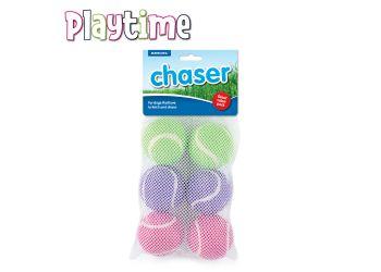 Net of 6 Tennis Balls
