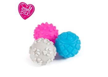 SB Vinyl Balls Small 6pc pack
