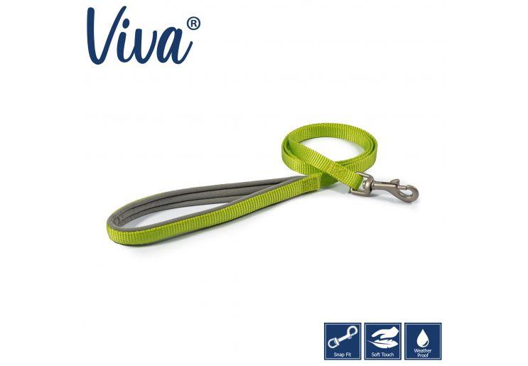 Viva Padded Lead Lime 1mx12mm