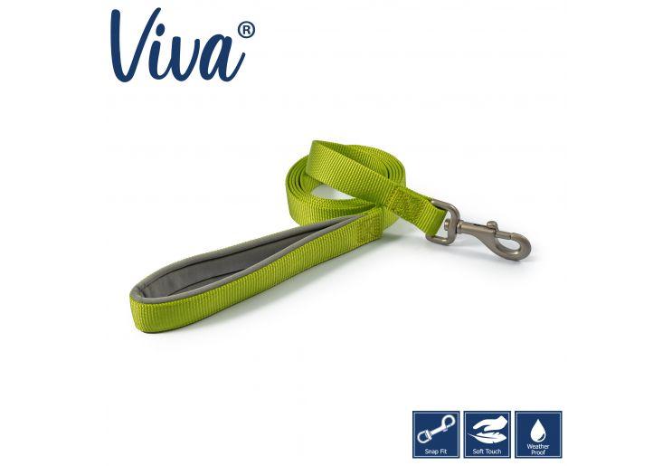 Viva Padded Lead Lime 1mx25mm