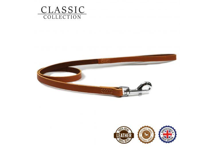 Classic Leather Lead Tan 1mx12mm