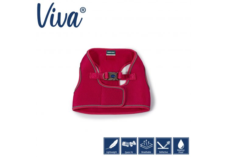 Viva Step-in Harness Pink XS 30-36cm
