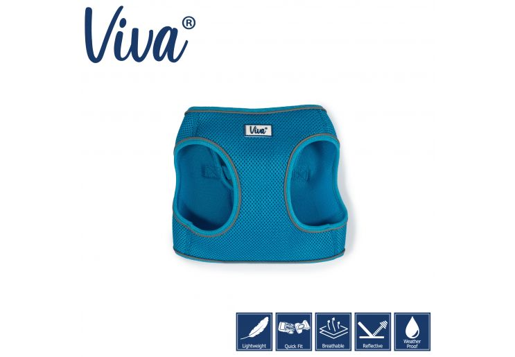 Step-in Harness Blue XS 30-36cm