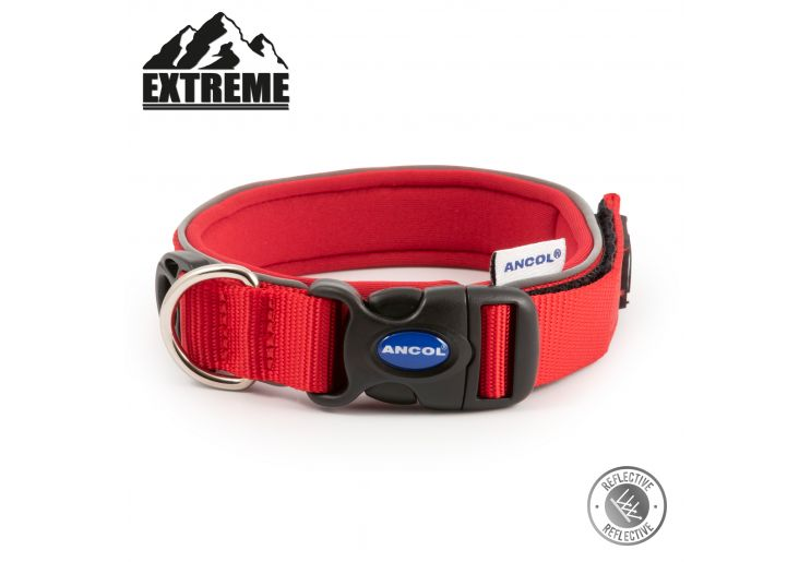 Extreme Collar Red Size 4