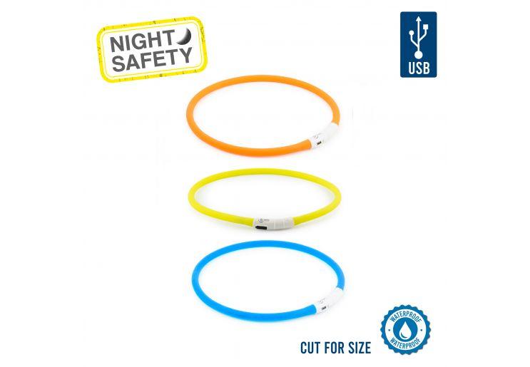 USB Flashing Band Yellow