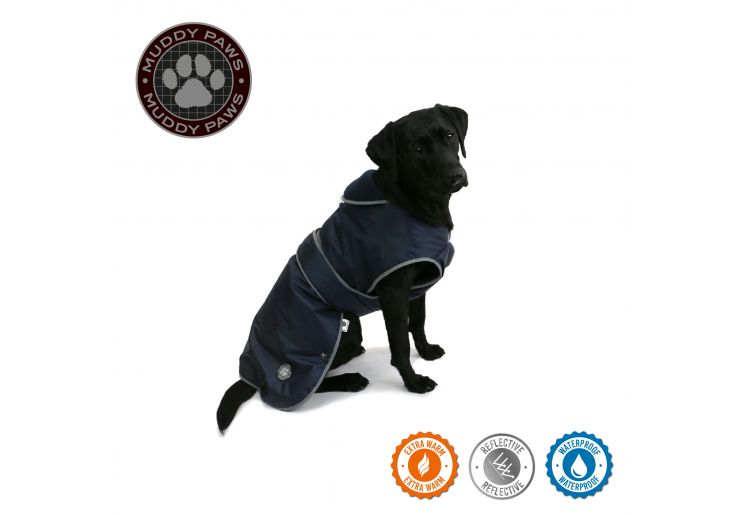 Stormguard Dog Coat Navy S/M