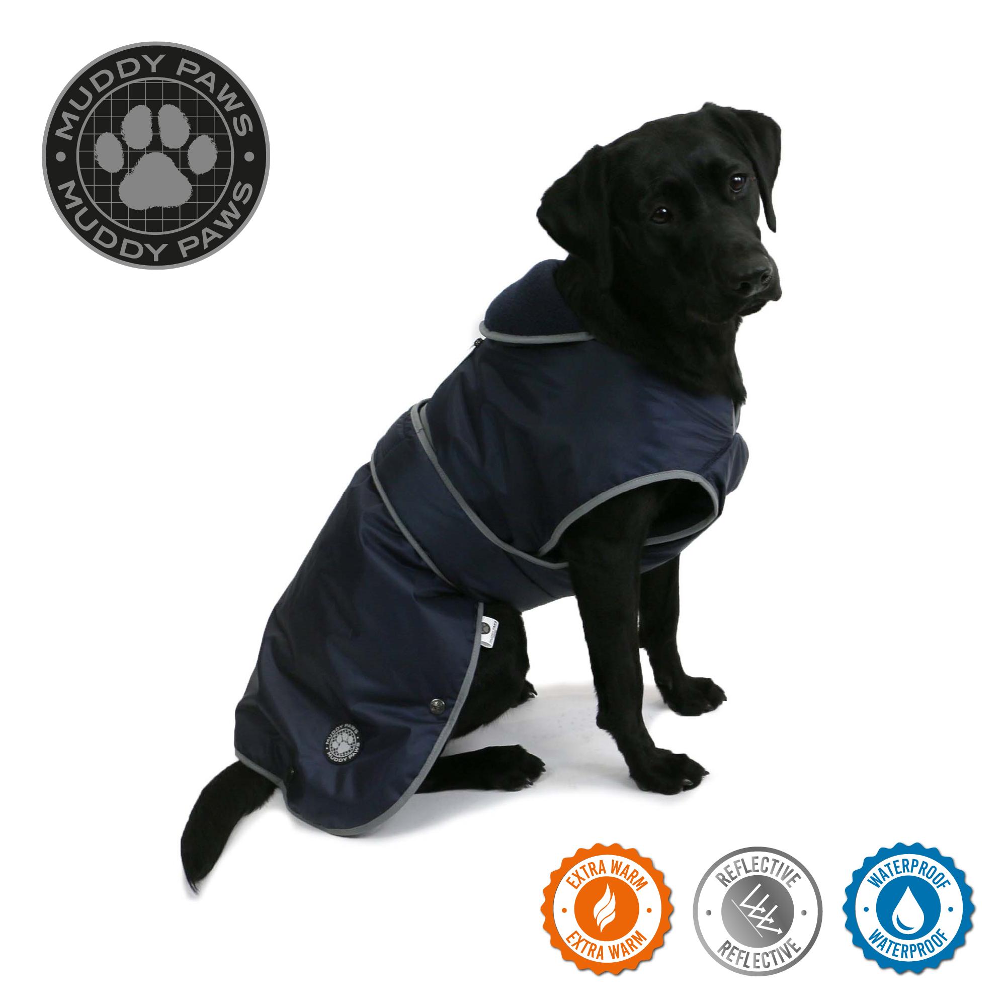 Obleček pro psy stormguard - modrý