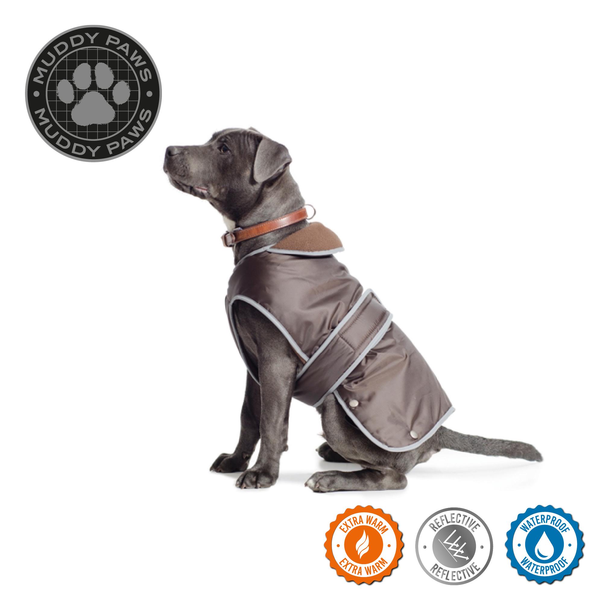 Obleček pro psy stormguard - čokoladový