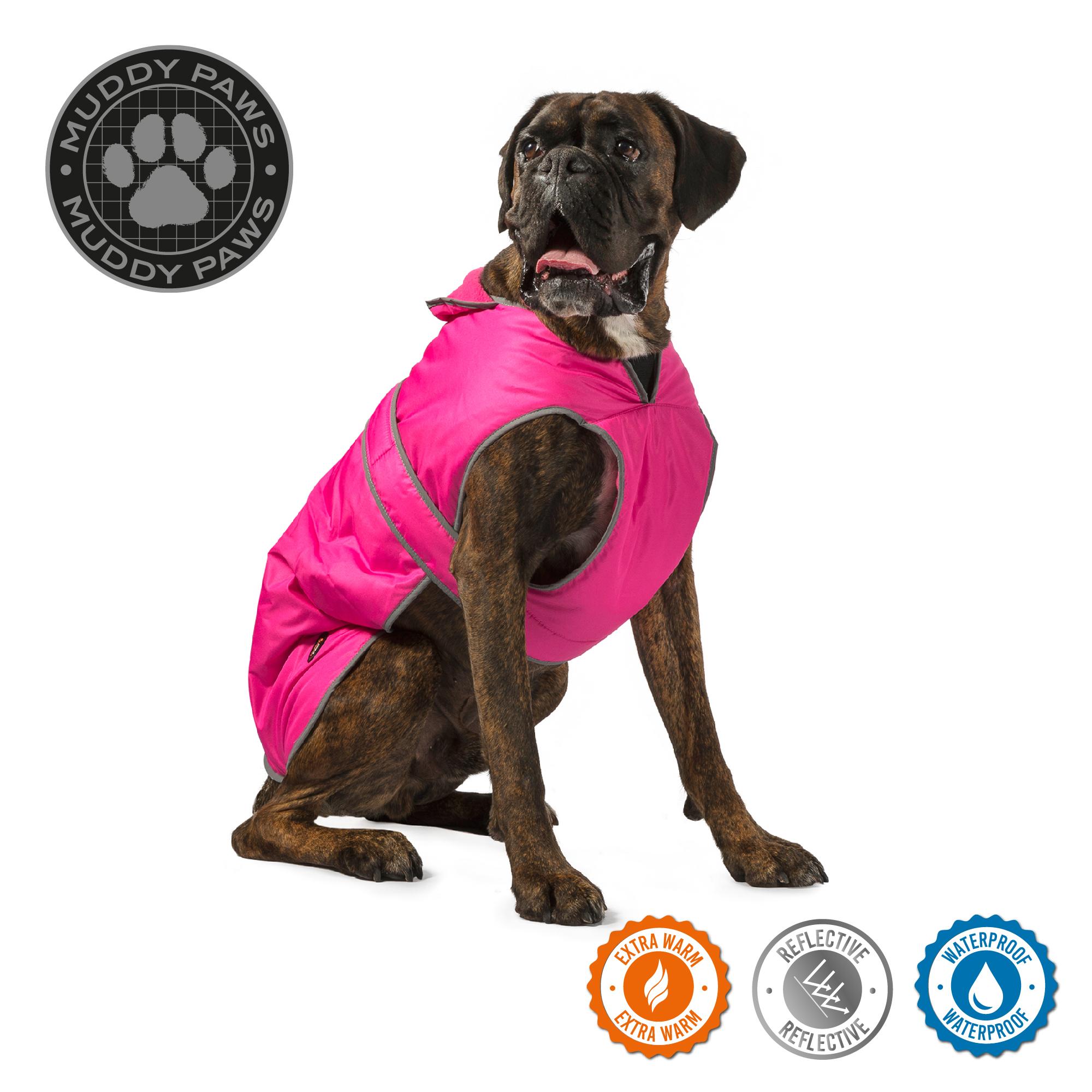 Obleček pro psy stormguard - růžový